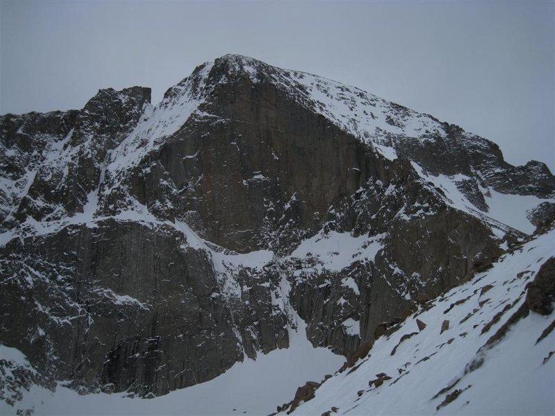 Rock Climbing Photo: East Face, 5-8-10.