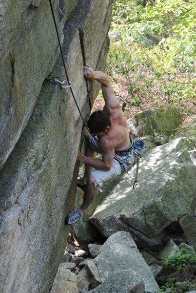 Rock Climbing Photo: Writer's Block 5.12b