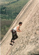 Rock Climbing Photo: Adam on Goosebumps