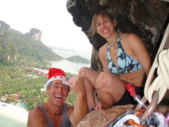 Rock Climbing Photo: Merry Christmas from the Thaiwand 2009