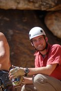 Rock Climbing Photo: teaching a rock course for the University of Utah