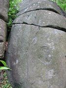 Rock Climbing Photo: Pancakes (V0). Photo by Greg Sudlow.