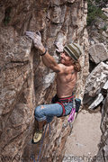 Rock Climbing Photo: On big........photo:Tyler Gates