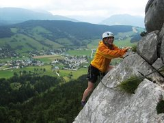 Rock Climbing Photo: Combeauvieux with Corrençon in the background.