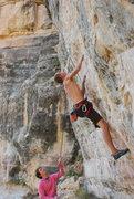 Rock Climbing Photo: Soren cruising Energizer
