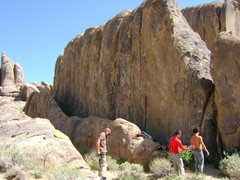 Rock Climbing Photo: The wall, shot from the southwest side.
