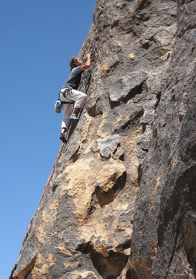 "Rock Climbing Photo: Phil Burcheff on ""Merchant Marine"". Phot..."