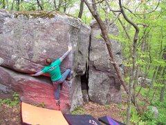Rock Climbing Photo: Flying Mancuso