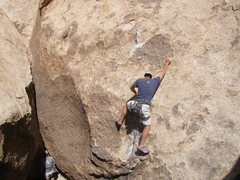 Rock Climbing Photo: Don't Eat the Worm
