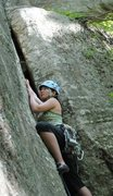 Rock Climbing Photo: Photo by Katie Landry Beginning of American Crack