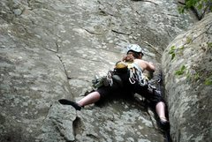 Rock Climbing Photo: Photo by Katie Landry American Crack - The Red