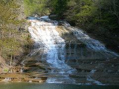 Rock Climbing Photo: Buttermilk Falls, Ithaca, New York