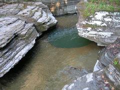 Rock Climbing Photo: Kettle @ Buttermilk Falls