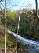 Rock Climbing Photo: Buttermilk Falls
