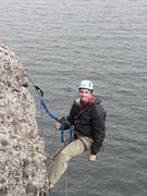 Rock Climbing Photo: Hanging out at Palisade