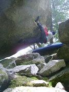 Rock Climbing Photo: Evolution trav.