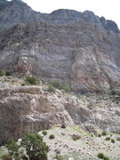 Rock Climbing Photo: Nobody's Darlings as seen looking east from the ca...