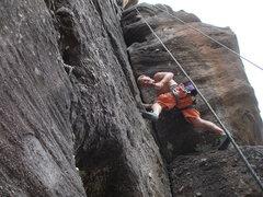 Rock Climbing Photo: Licorice Stick