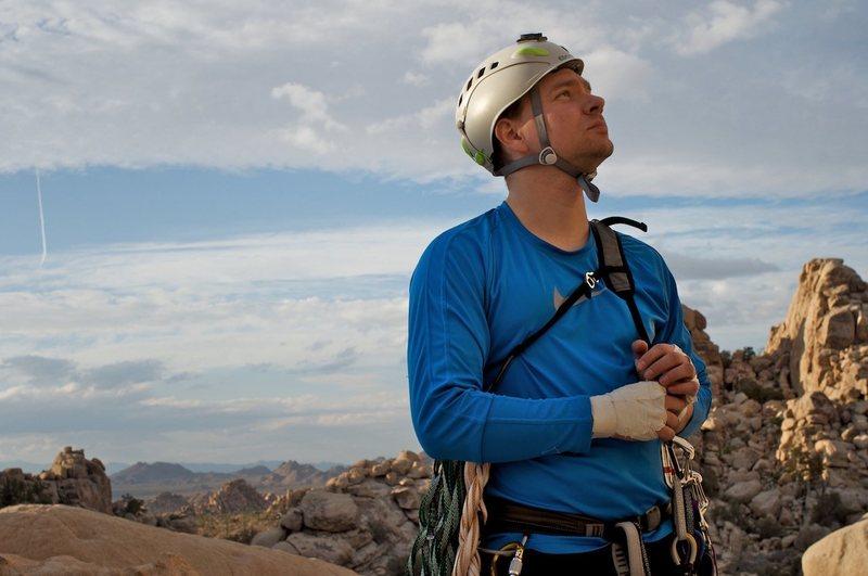 Rock Climbing Photo: Somewhere in Joshua Tree
