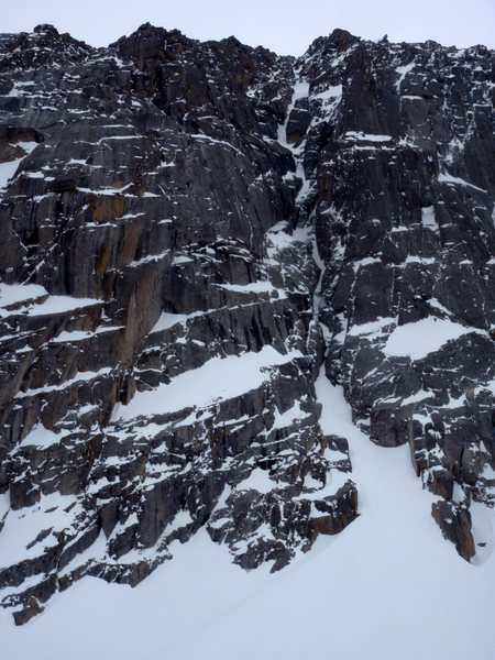 The Hourglass Couloir.
