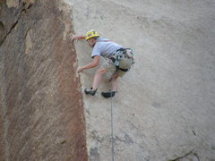 Rock Climbing Photo: Brett Pinar on Lubricated Goat.
