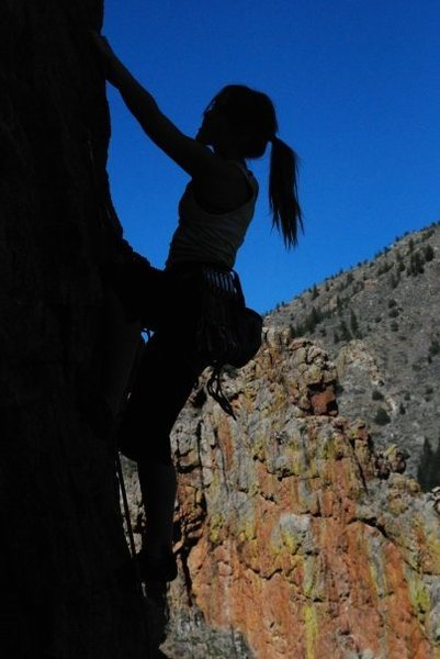Rock Climbing Photo: rapunzel