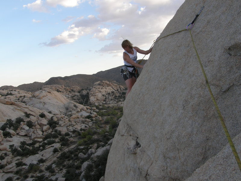 Rock Climbing Photo: Rhesa Ashbacher on Bish.