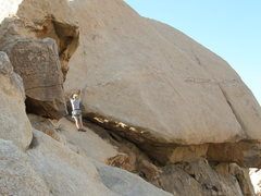 Rock Climbing Photo: Tim Pinar on the exciting and awesome climb Bish.