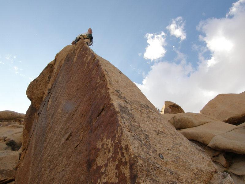 Rock Climbing Photo: The Lubricated Goat.