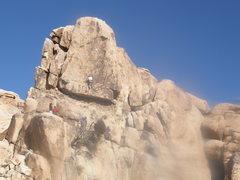 Rock Climbing Photo: Slumdog