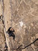 Rock Climbing Photo: Dave Cox on Slumdog.