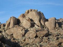 Rock Climbing Photo: The Safe Sex Zone