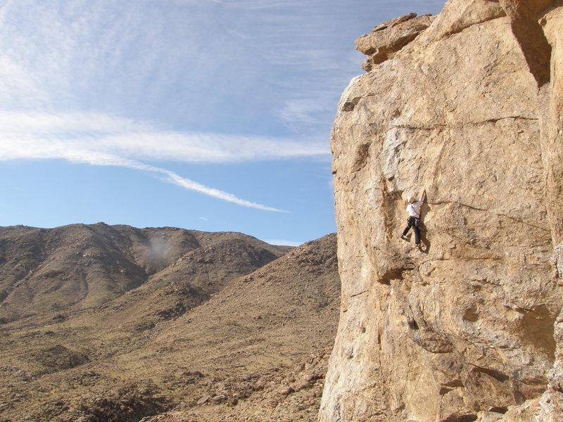 Rock Climbing Photo: Kelby Burnham on The Wild Goose.