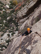 Rock Climbing Photo: pitch 2, Berry Nice