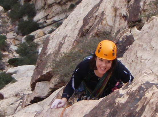 Rock Climbing Photo: I don't know about that...