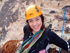 Rock Climbing Photo: Hanging out at the belay station