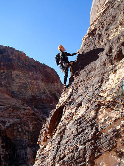 Rock Climbing Photo: I don't know if I want to traverse this thing... C...