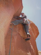 Rock Climbing Photo: David Bloom gathering beta for the new guide book!