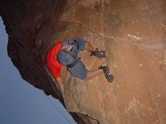 Rock Climbing Photo: Ring Pin Boulder 5.9+