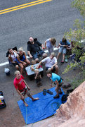 Rock Climbing Photo: The Family at Seibernetics 5.8+