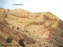 Rock Climbing Photo: A0.Curiosity Killed the Rat.5.9.B) Rat Trap.5.10.C...