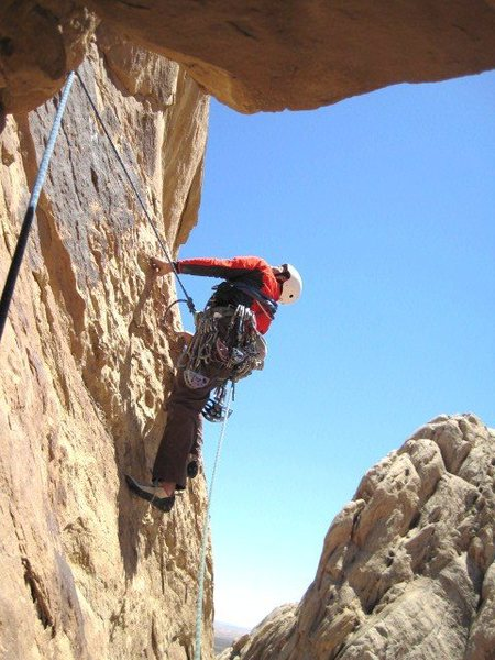 Rock Climbing Photo: Starting the last pitch