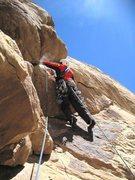 Rock Climbing Photo: Final problem.