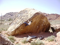 Rock Climbing Photo: Very nice warm up problem, Poker Chips
