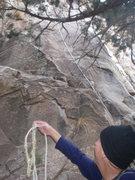 Rock Climbing Photo: Base of Solitude