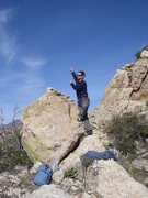 Rock Climbing Photo: top