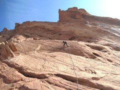Rock Climbing Photo: Lance on the Cats Meow