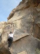 Rock Climbing Photo: Kelby Burnham on My Naughty Little Donkey at The M...
