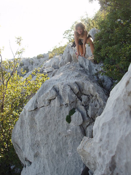 """Rock Climbing Photo: Leave some time for the """"walk off"""". It i..."""