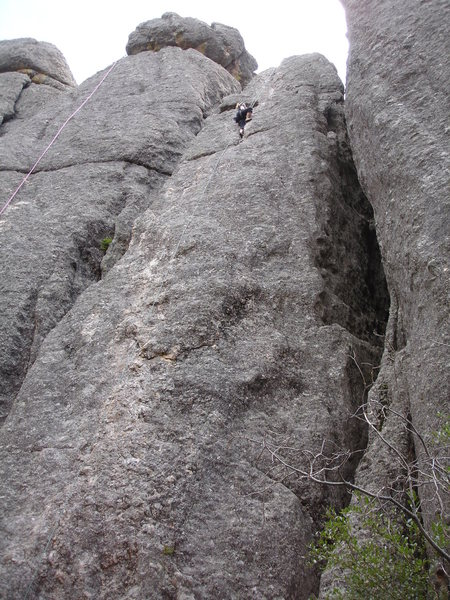Rock Climbing Photo: Better than Pool and Pie